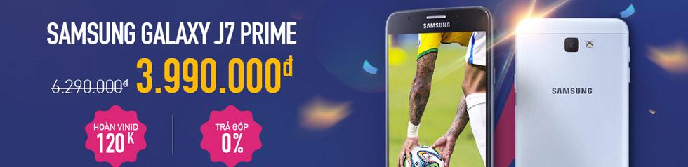 ADayRoi.Vn - Giảm giá sốc Samsung Galaxy J7 Prime còn 3,990,000