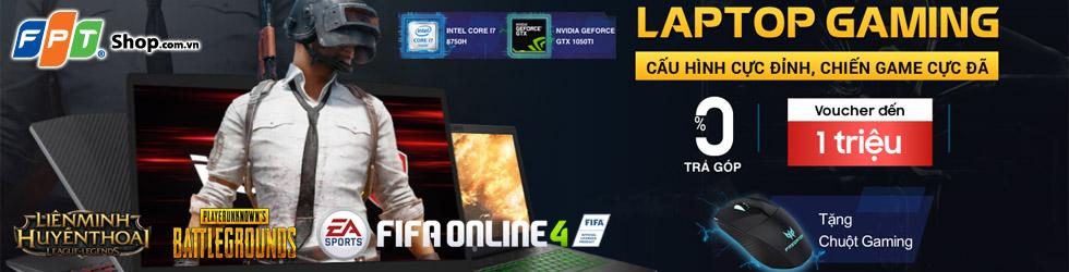 Laptop, laptop chơi game, laptop cau hinh khung, laptop gaming, gaming, khuyen mai laptop