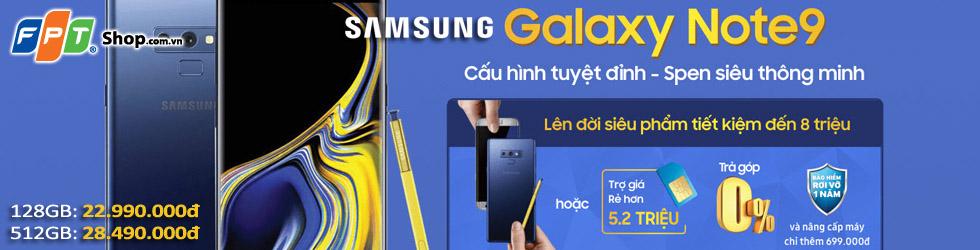 Siêu phẩm Samsung Galaxy Note9